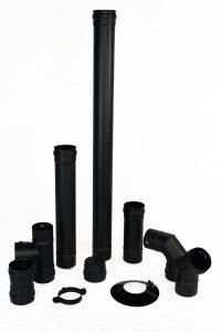 tubos para estufas de pellets